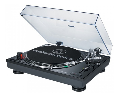 toca-discos profissional audio-technica lp120x direct-drive