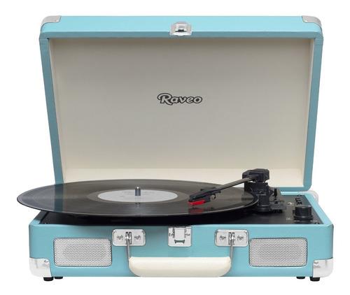 toca discos sonetto gravação bluetooth light blue