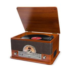 Toca-discos Vinil Retro Ion C/ 7 Formas De Reprodução De Áudio E Conversão Digital