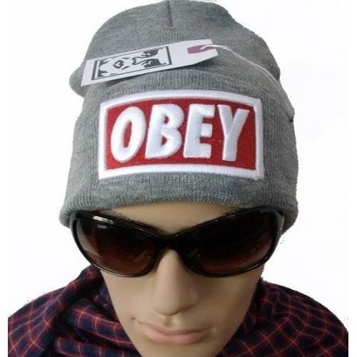 Toca Obey Unissex Cinza Masculina Feminina Frete Gratis. - R  62 99799f562a1
