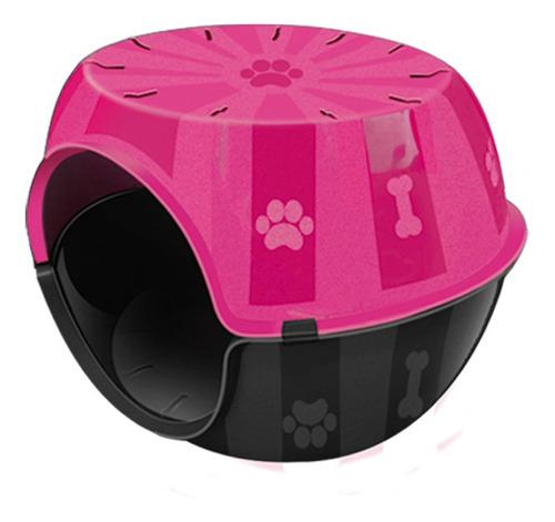 toca para cães e gatos plástica paris pequeno porte furacão