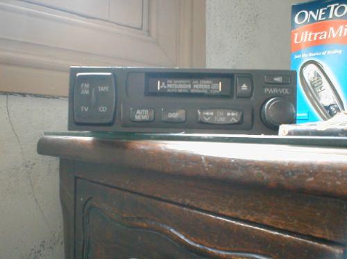 tocacintas tocacassette cassetera para automovil mitsubishi