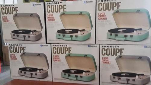 tocadisco crosley coupe bt turquesa cr6026atl