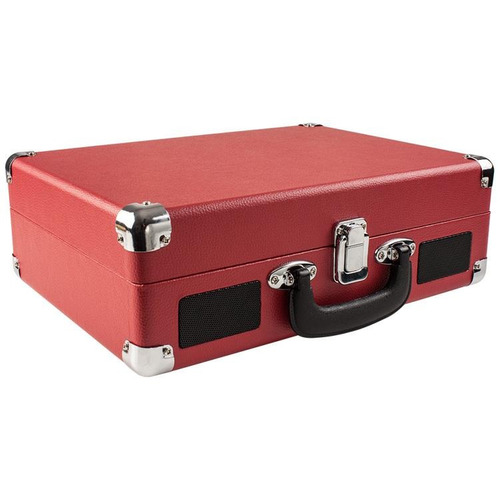 tocadiscos bandeja de vinilo portable valija vintage