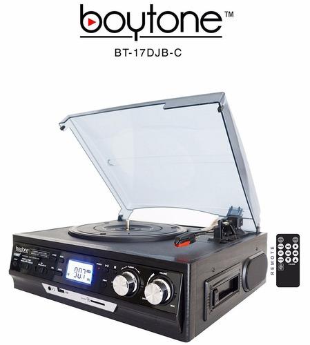 tocadiscos cassette digital mp3 usb parlantes tornamesa usa