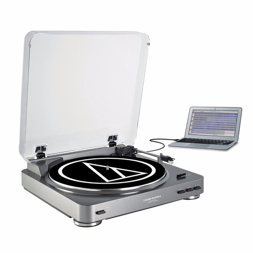 tocadiscos con puerto usb audio technica at-lp60usb