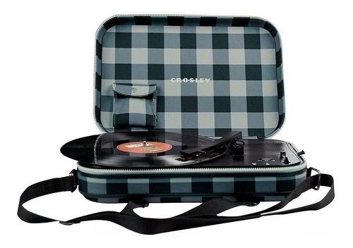 tocadiscos crosley messenger checker cr8016agc