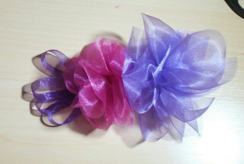 tocado de flores para el cabello. flamenco, niñas, lazos