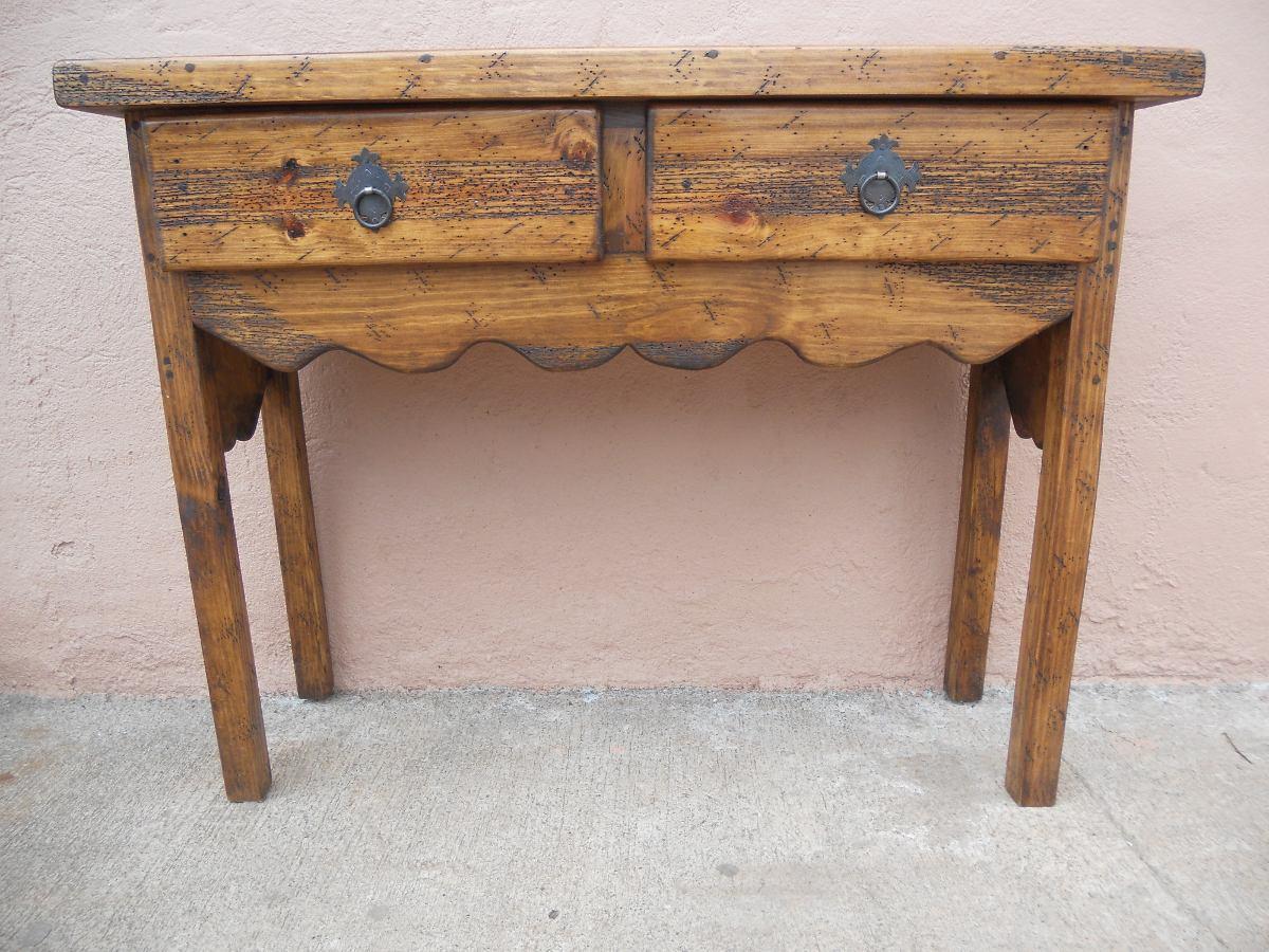 Tocador c moda r stica madera de pino excelente calidad for Tocador de madera maciza