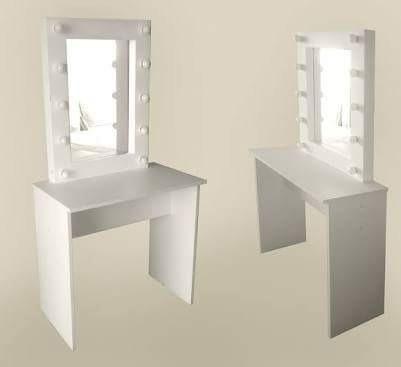Tocador con espejo de 10 focos s 420 00 en mercado libre - Tocador con espejo y luces ...