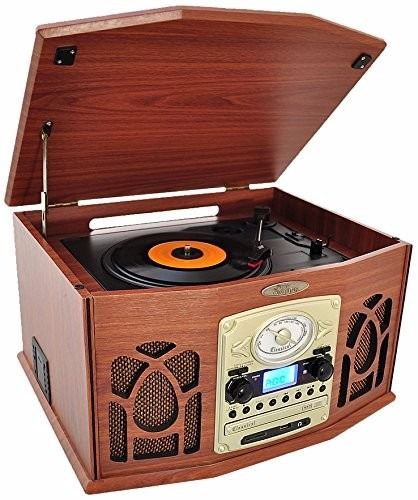 tocador de discos pyle ptcds7ubtbw bluetooth