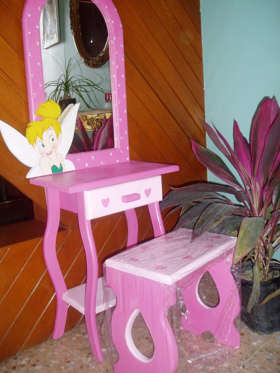 Tocador de juguete infantil madera natural para ni a - Tocador madera nina ...