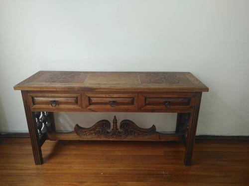 tocador en madera