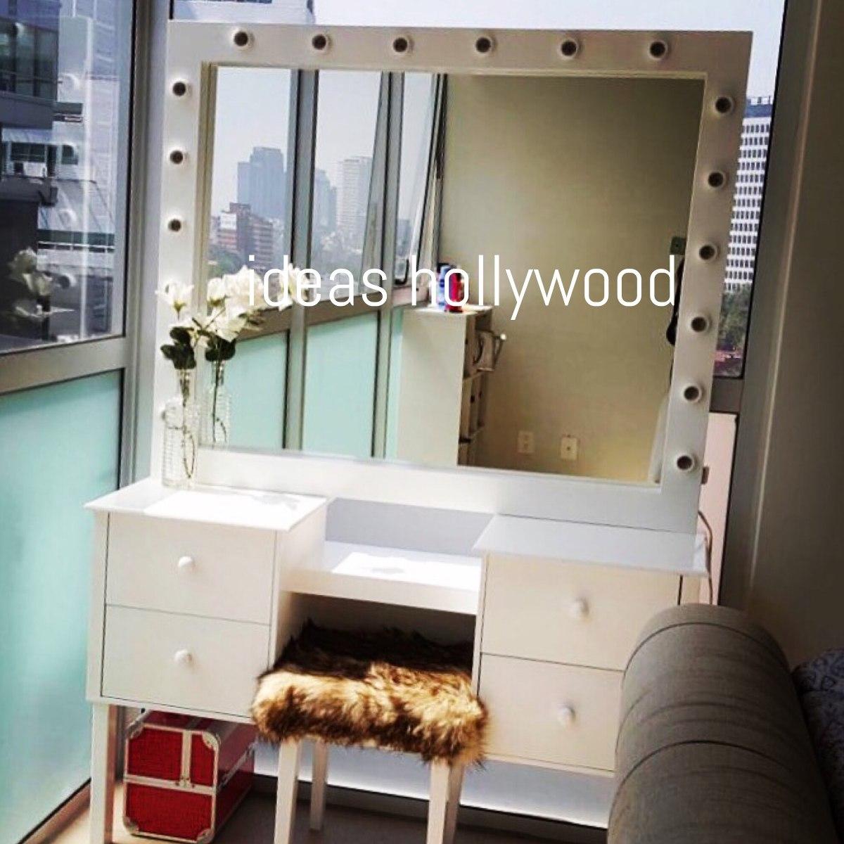 Tocador Hollywood Cl Sico Con 18 Focos 8 500 00 En Mercado Libre # Muebles Hollywood