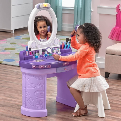 tocador infantil step2 fantasy vanity niñas