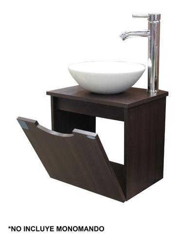 tocador nano mueble para baño con espejo y lavabo
