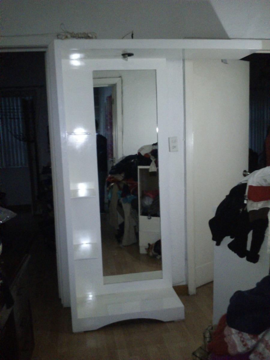 Tocador espejo cuerpo completo lounge con luz impecable for Espejo cuerpo entero