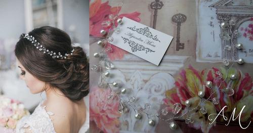 tocados, coronitas, apliques, tiaras novias civil bodas