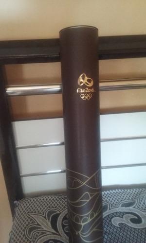 tocha olimpica usada no revezamento