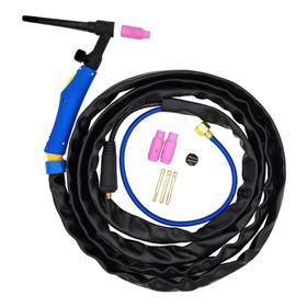Tocha Seca Para Solda Tig Inversora Solda 200a 4 Metros 9mm