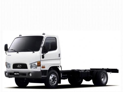 toda la linea camiones hyundai!!
