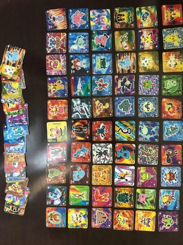 todas as coleções de tazos pokémon completas!