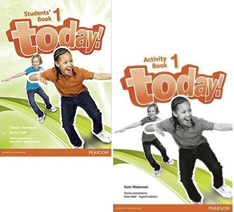 today! 1 student´s book and activity book - pearson