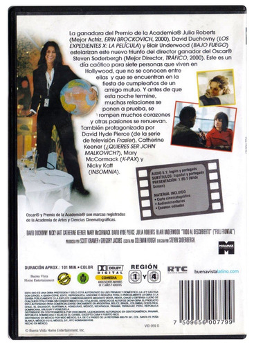 todo al descubierto julia roberts pelicula dvd
