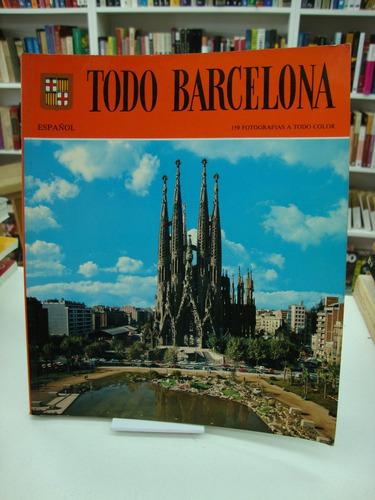 todo barcelona - escudo de oro