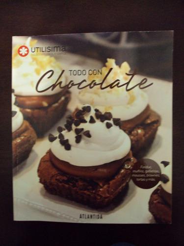 todo con chocolate - utilísima - atlántida