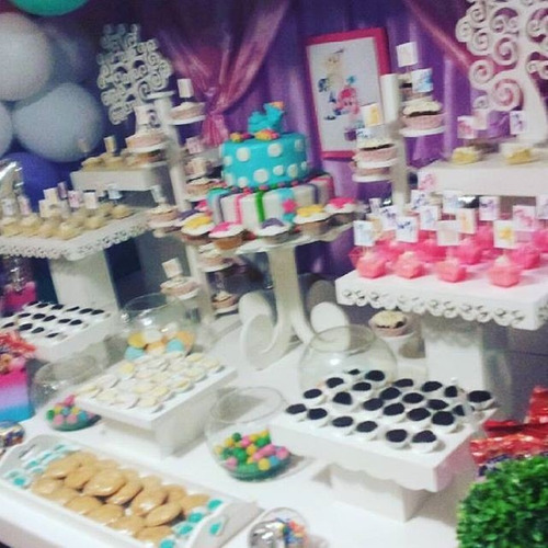 todo en decoraciones candy bar estilo chip fiestas tematicas