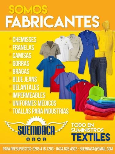 todo en suministros textiles (somos fabricantes)