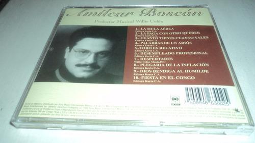 todo es relativo - amilcar boscan cd productor/ wille colon