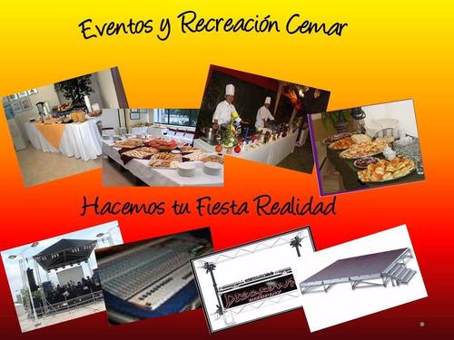 todo:  eventos y recreacion cemar  planes vacacionales