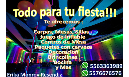 todo para tu fiesta !!!
