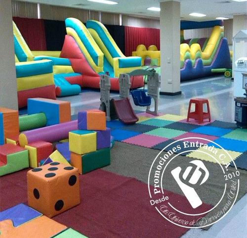 todo para tus fiestas (zona infantil, festejo, recreación)