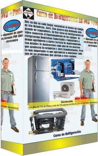 todo refrigeración + regalo curso de refrigeración en videos