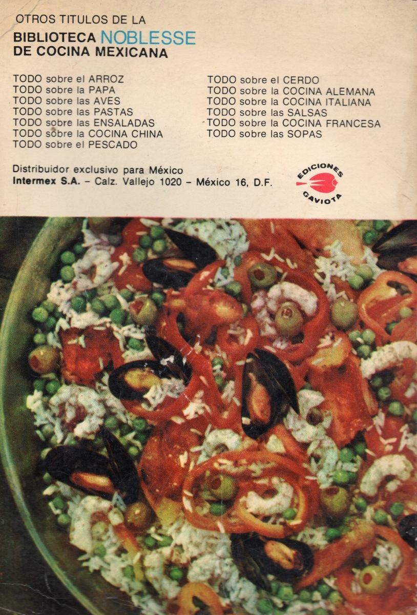 Todo sobre la cocina espa ola biblioteca noblesse en mercado libre - Todo sobre la cocina ...