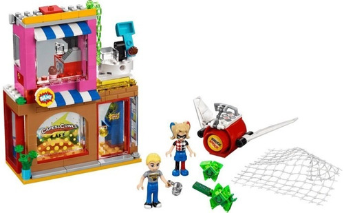 todobloques lego 41231 super girls harley quinn rescate
