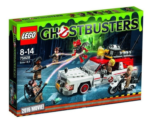 todobloques lego 75828 ghostbusters ecto -1 & 2