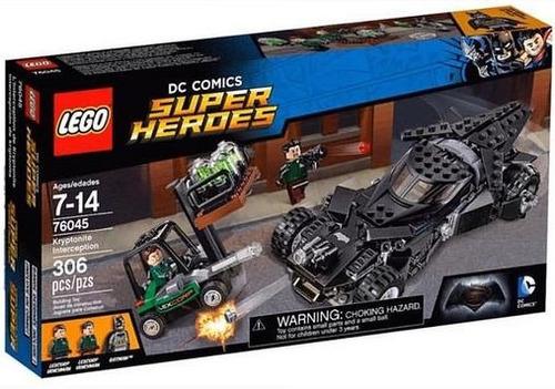 todobloques lego 76045 dc super hero intercepción kriptonita
