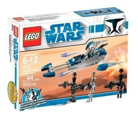 todobloques lego 8015 star wars assassin droids!!!