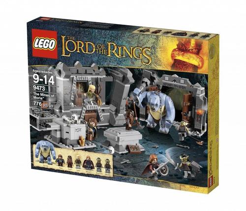 todobloques lego 9473 señor de los anillos la mina de moria