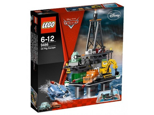 todobloques lego 9486 cars oil rig escape