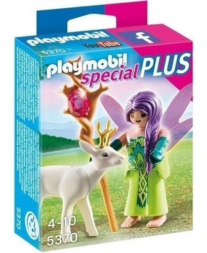 todobloques playmobil 5370 hada con ciervo