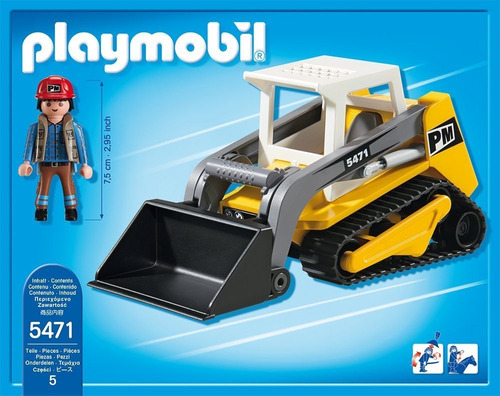 todobloques playmobil 5471 cargador de cadenas compacto