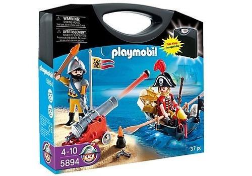 todobloques playmobil 5894 carrying case piratas!!!!