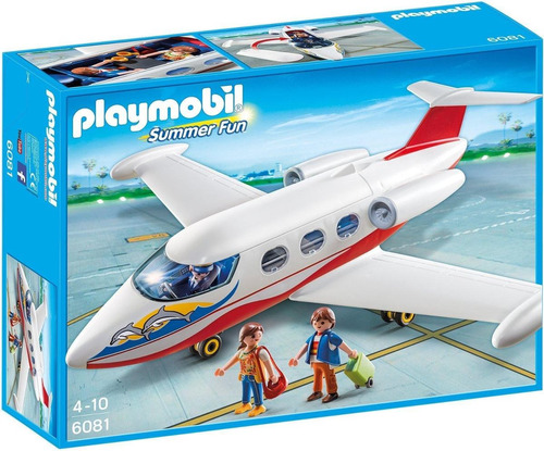 todobloques playmobil 6081 summer jet