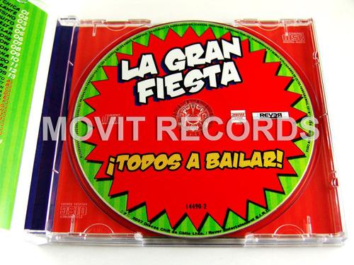 Todos A Bailar La Gran Fiesta Cd Multimedia Video Karaoke -   199.00 ... a11620022c1