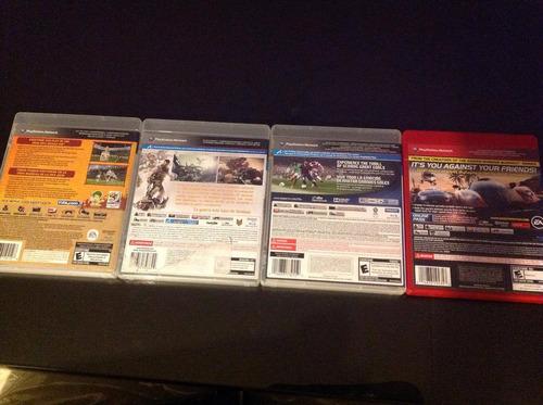 todos estos juegos de ps3 a: